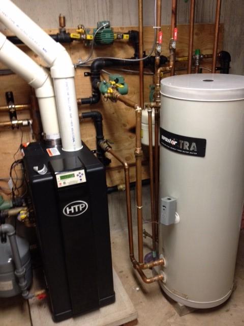 Installation of HTP\'s Elite Boiler & SuperStor Ultra