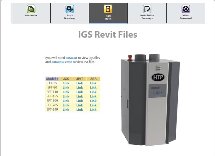 HTP has IGS & Revit Files!