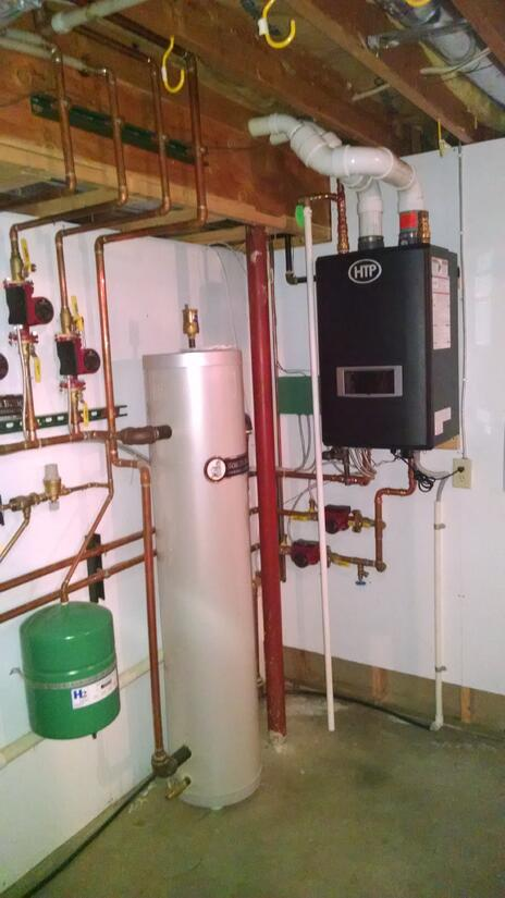 The New UFT Boiler: Installation Pictures!