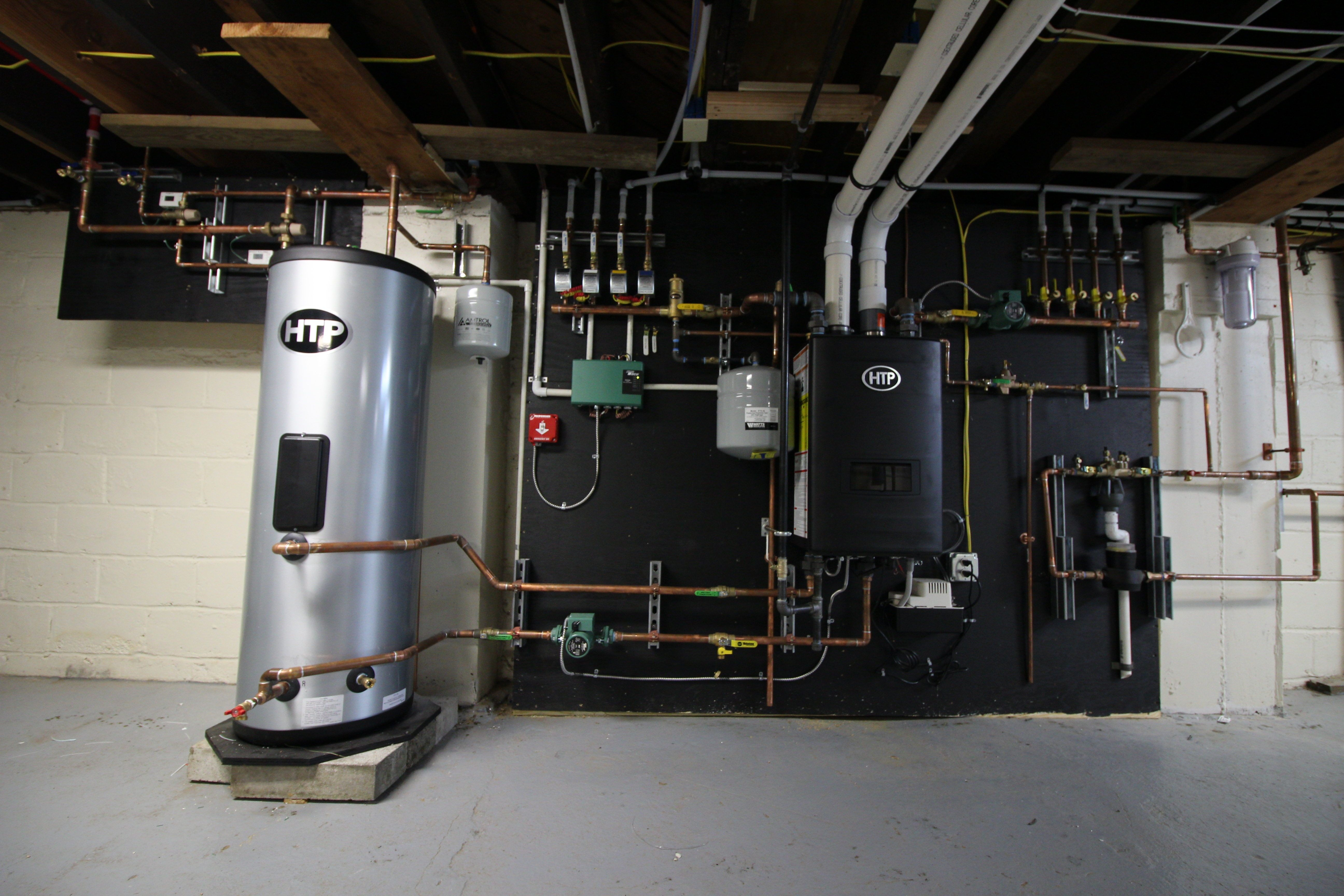Großartig Warmwasserboiler Installation Bilder - Elektrische ...