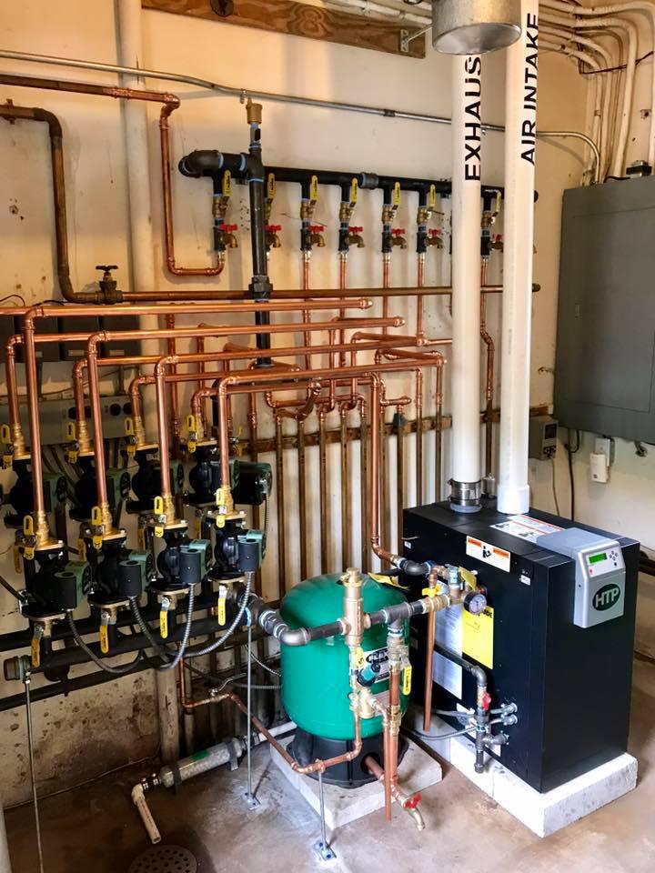 Boiler Install - Elite Premier