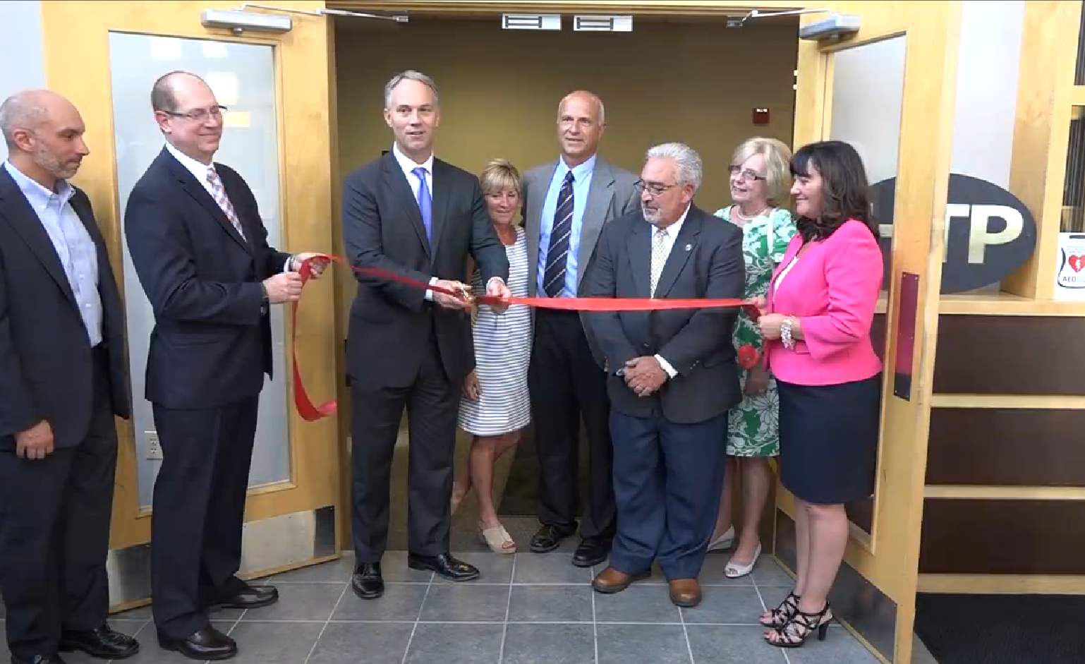 Htp S Grand Opening Celebration With Mayor And Staff